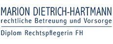 Marion Dietrich-Hartmann, Diplom Rechtspflegerin - Supervision für Berufsbetreuer